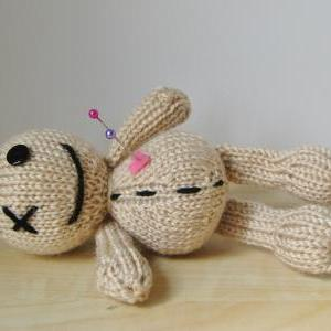 Knitting Pattern Voodoo Doll : Voodoo Doll Toy Knitting Pattern on Luulla