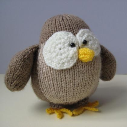Disney Knitting Patterns Free : Graduation Owl Toy Knitting Patterns on Luulla