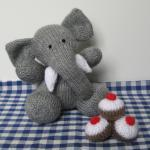 Bloomsbury Elephant Toy Knit..