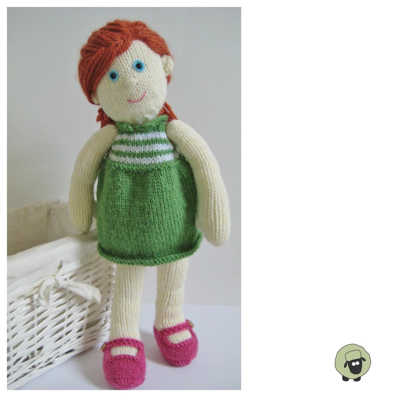 Lily Doll Toy Knitting Patterns on Luulla