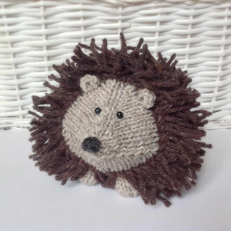Tweedy Hedgehog Toy Knitting Patterns on Luulla