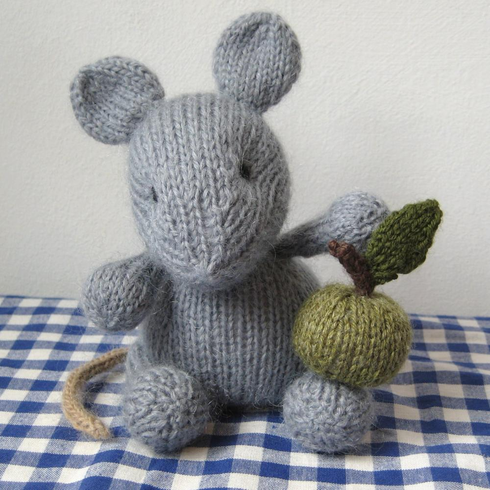 Easy Knitting Patterns Toys : Putney Mouse Toy Knitting Patterns on Luulla