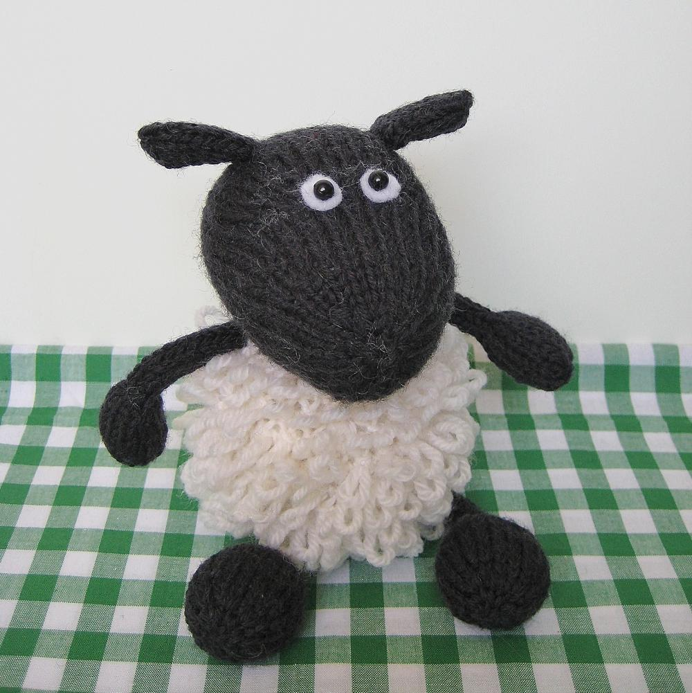Loopy Knitting Pattern : Loopy Sheep Toy Knitting Pattern on Luulla