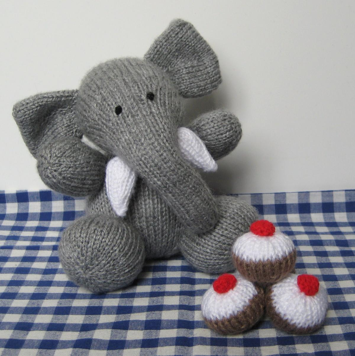 Excelente Free Knitting Patterns Animals Toys Bosquejo - Manta de ...