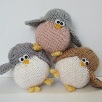 Disney Knitting Patterns Free : Tooley Owl Toy Knitting Pattern on Luulla